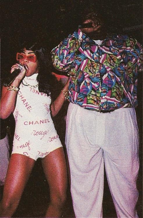 Lil Kim and Biggie