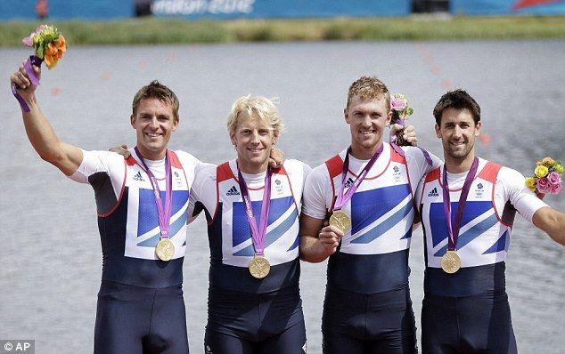 Alex Gregory, Tom James, Pete Reed and Andrew Triggs Hodge - GOLD, Men's Four Rowing