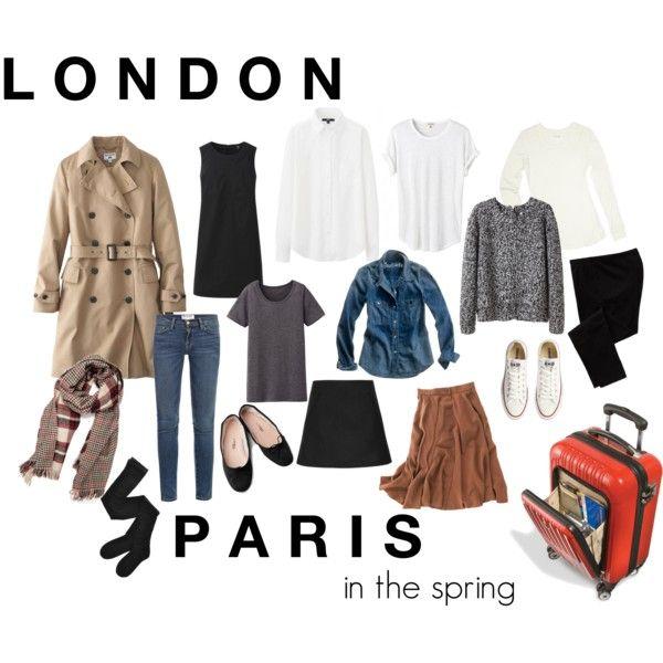 """London // Paris"" by katras on Polyvore"