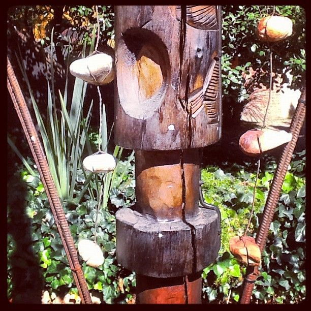 Outside Decor with a touch of Africa