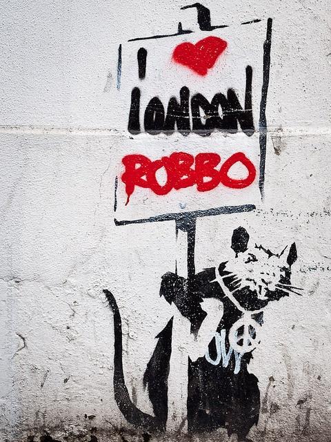 183 best banksy rat rato images on pinterest banksy for Banksy rat mural