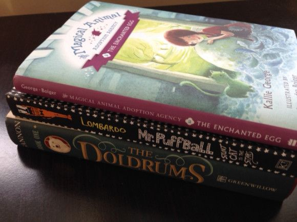 3 new chapter books from HarperCollins: The Doldrums, The Enchanted Egg and Mr Puffball: Stunt Cat to the Stars. Perfect for kids ages 8-12.