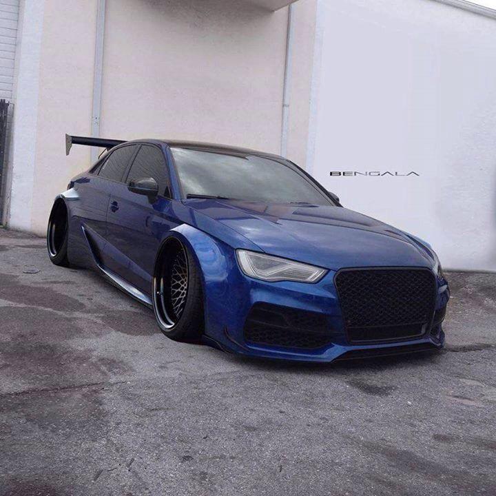 Audi wide body
