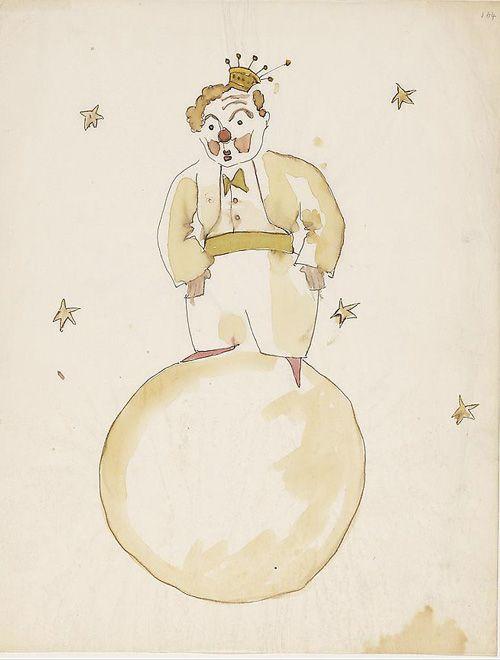 Antoine de Saint-Exupéry's Original Watercolors for The Little Prince