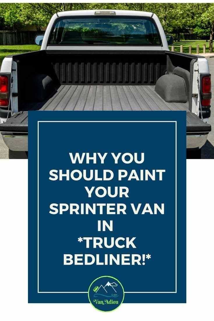 Best Spray In Bedliner >> 5 Incredible Sprinter Van Painting Options You Will Never