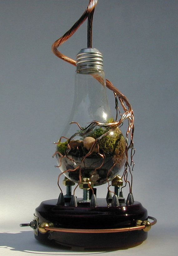 from http://www.etsy.com/listing/76012604/conception $125. At the flip of a switch a rock inside will start glowing!