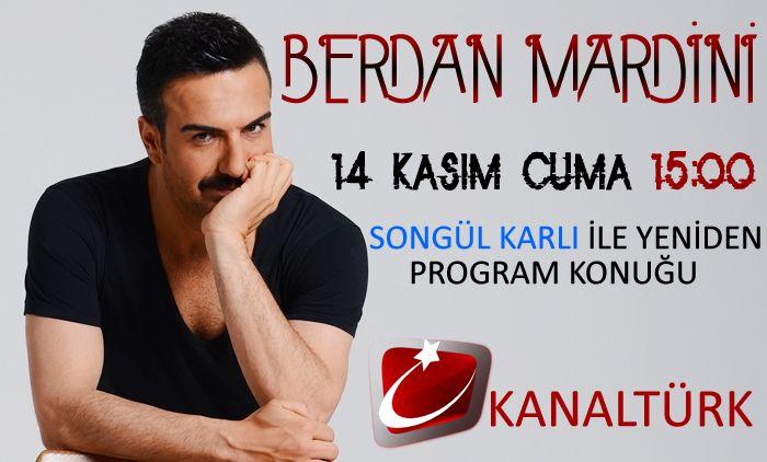Bugün saat 15:00'da KanalTürk'de Songül Karlı ile Yeniden Programının Konuğuyum..