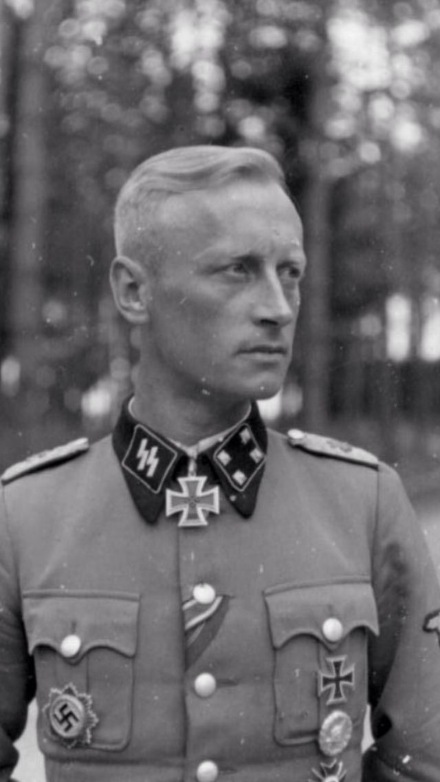 SS haircut #5 | German Haircuts WW2 | Pinterest | The o ...