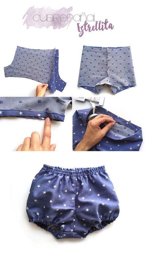 4 tutoriales de ropa de bebé de verano DIY- Cubrepañal