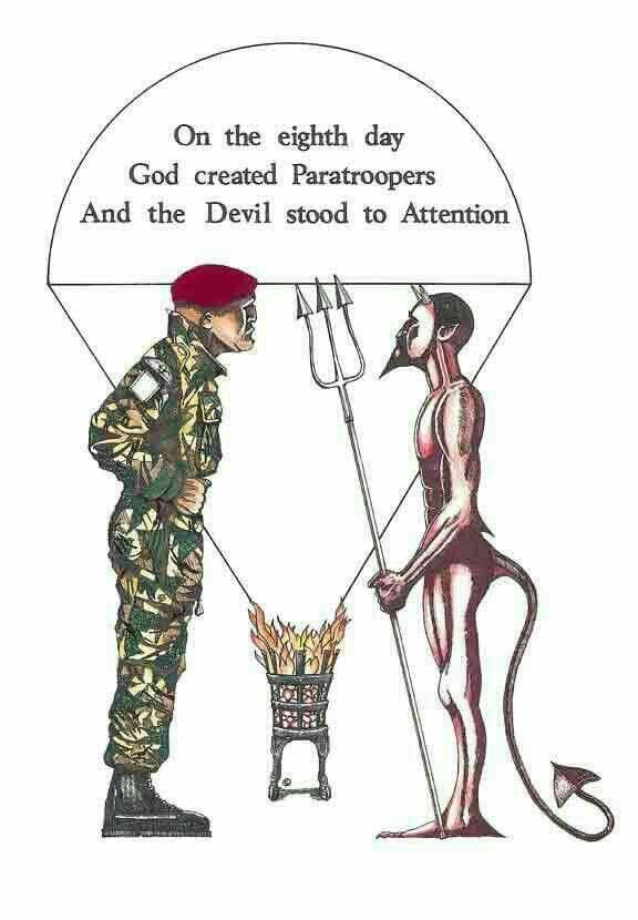 82nd Division Airborne Shuffle It/'s Not A Dance Paratrooper Recruitment Poster