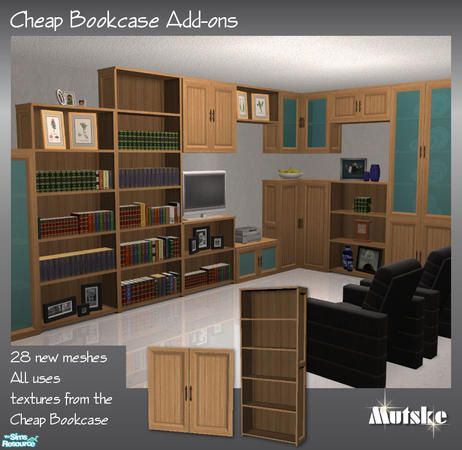 cheap bookcase addons by mutske tsr repository items