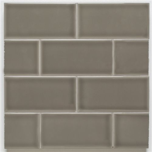 H Line | 3x6 Glossy Subway Tile | Pearl | For Uni