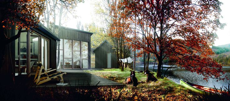 Small houses - Rindal Cabins