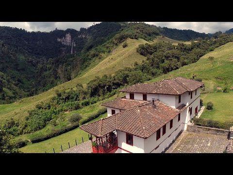 Parque los Nevados, Eje cafetero, Colombia   Dronestagram