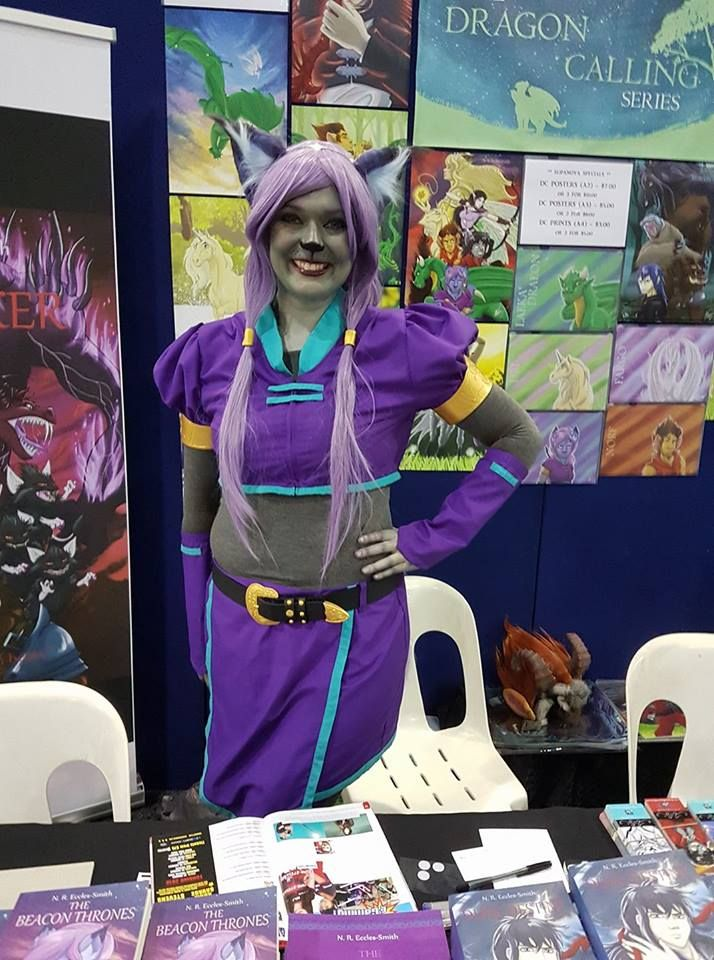 Shifra #cosplay at the #DragonCalling booth, at Brisbane Supanova 2017