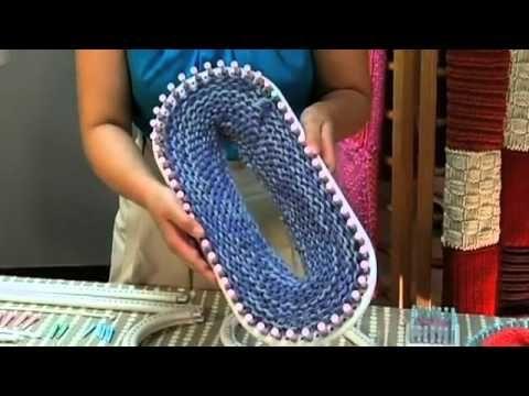 Here Ya Go, my knifty knitter peeps! Lion Brand Martha Stewart Crafts Loom Kit Introduction