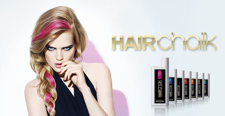 L'Oreal Hairchalk!Easy  non-permanent hair colouring to change things up!