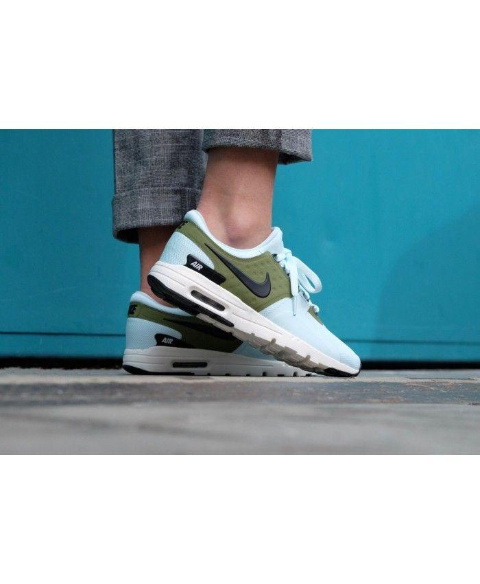 Cheap Nike Air Max Zero Glacier Blue Ivory Palm Green Black Womens ...