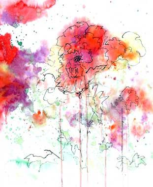 25 best ideas about abstract watercolor art on pinterest