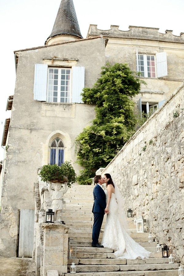 Rustic Chic Chateau Lagorce Real Wedding 356