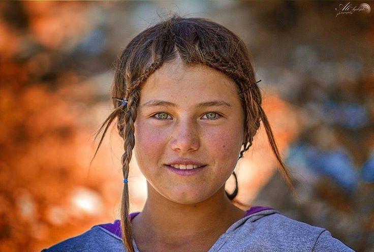 Toros diyarlarından bir Yörük kızı