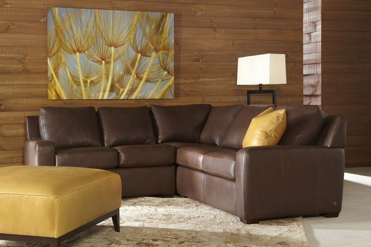 Brown Leather Sectional Sofa Sleeper