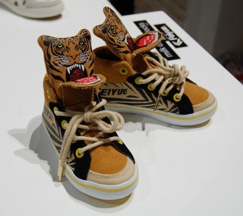Feiyue kids' sneakers at Bread & Butter Berlin. EDITD live blog from each day of Europe's largest street and denim tradeshow.