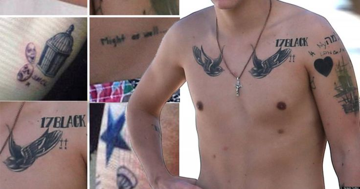 One Direction's Harry Styles and His (Over 40!) Tattoos