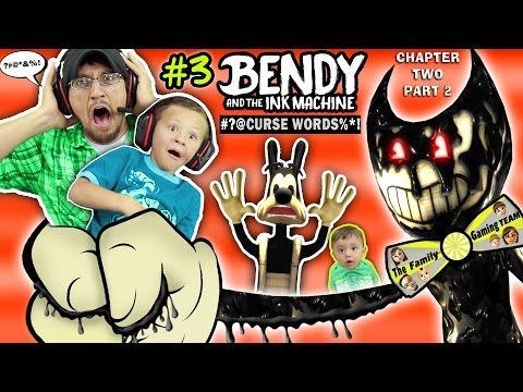 DAD CAPTURED! Bendy and the Ink Machine #3 Haunts Our House FGTEEV Chapter 2 Boss | SCARY Kids Game - YouTube