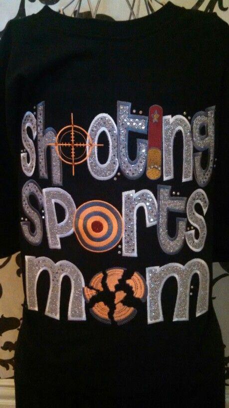 Shooting Sports Mom T-Shirt