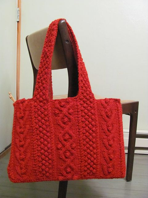 Ravelry: Tweed Shoulder Bag pattern by Debbie Bliss. $. I really wish someone would make this for me. :)