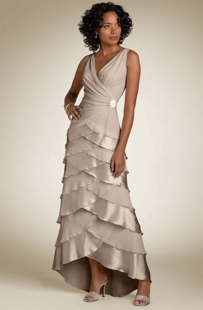 Mother of the Bride dress?? Need a different color thought but Love the style :-P