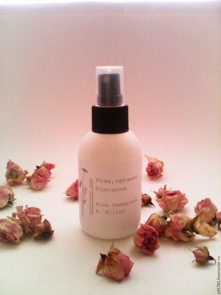 Купить Розовая вода, органик 50мл - Гидролат розы, цветочная вода, розовая вода