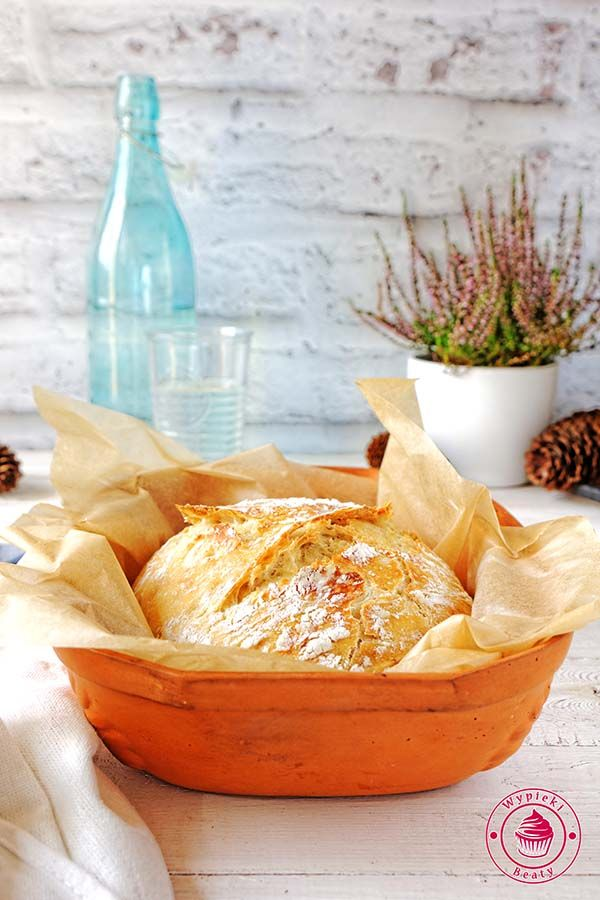 Homemade wheat bread - łatwy chleb pszenny