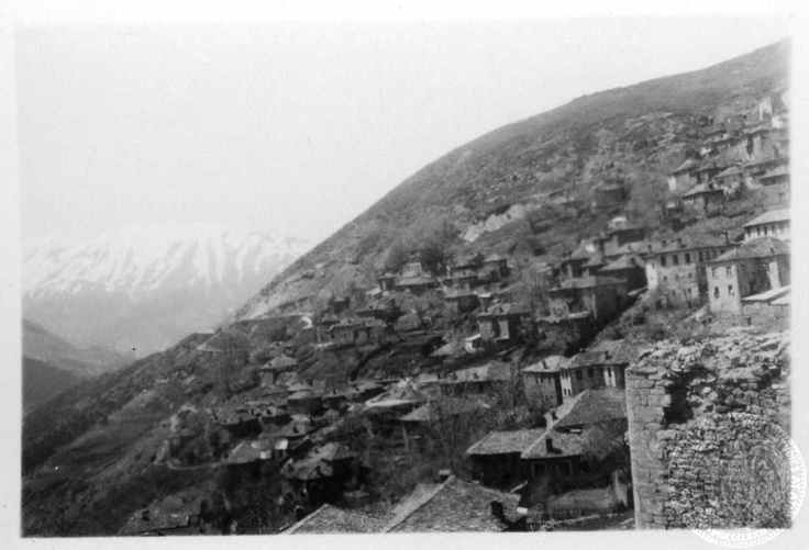 Metsovo with valley of Arachthos.  1931; Dorothy Burr Thompson