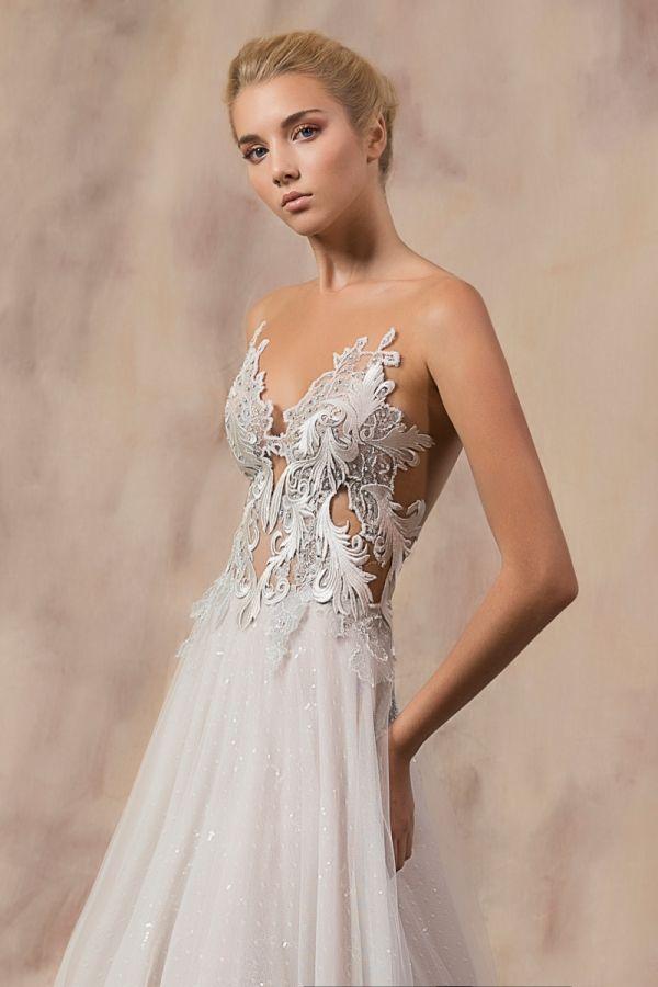 OLIVIA #weddinggown #celestialcollection #newbridalcollection #costantinobridal #weddingingreece