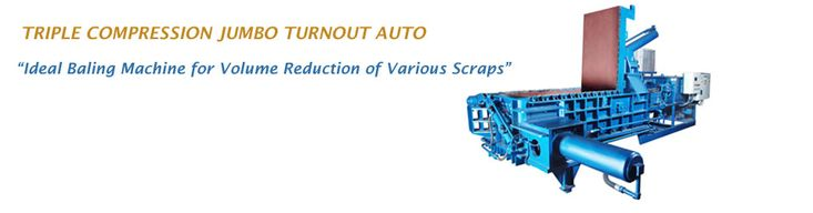 High Quality Scrap Baling Machines from Advance Hydrau-Tech  to reduce the volume of both ferrous & non-ferrous scrap materials for cost-effective scrap handling, warehousing and transportation.