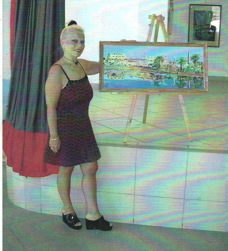 J.B. d'HERA à l'expo d'Esparon de Verdon (04) - Le Press-Book de J.B. d'HERA Artiste Peintre Poète
