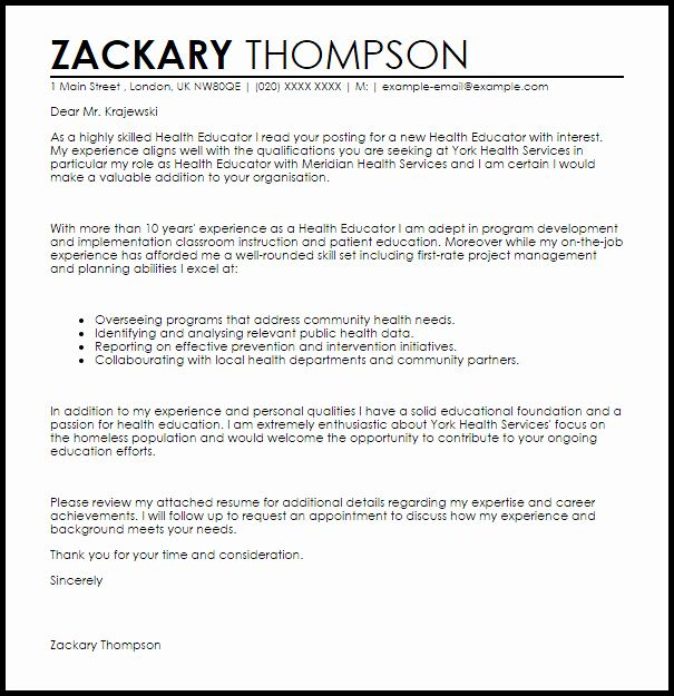 23 Public Health Resume Examples in 2020 | Education ...