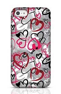 Love-Print Apple iPhone 5 Phone Case