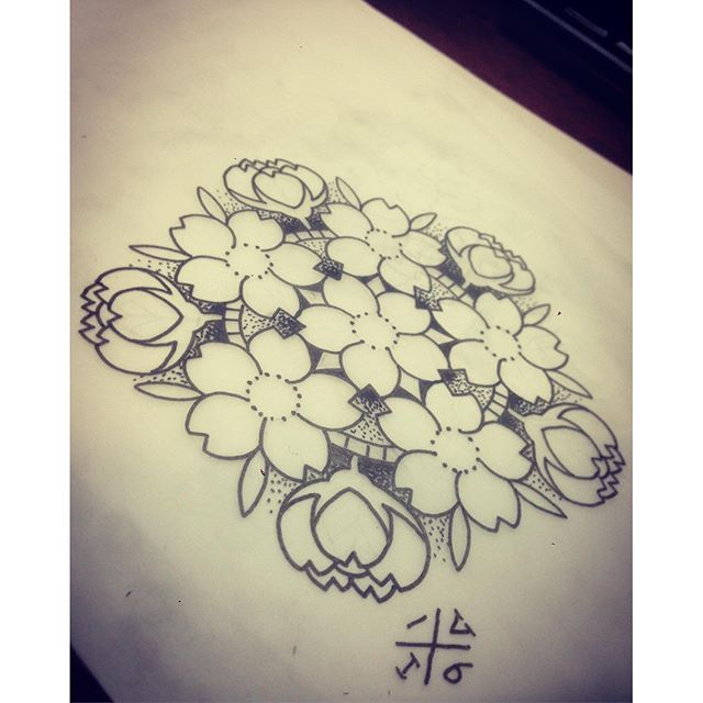 【veol_ink】さんのInstagramをピンしています。 《Available mandala.. PB or mail for apointments . Veol_ink@outlook.com #tattoo #tattoos #tattooed #tattooart #tattoolife #ink #inked #inklife #inkedgirls #linework #dotwork #flowers #mandala #cherryblossoms #blossom #geometric #color #dutch #breda #waalwijk #veol_ink #black #design #fun》