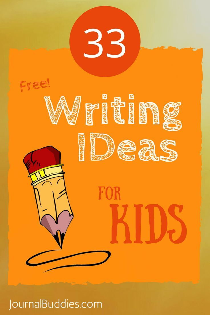 Writing is fun! On this list of 33 free writing prompts for kids there are sentences that need to be completed, questions to respond to, and thoughts to explore.33 Free Writing Ideas for Kids