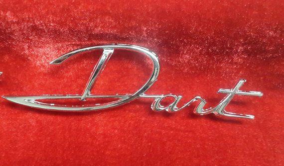 1963 Dodge Dart Quarter panel emblem REPRODUCTION set by 3CARStore