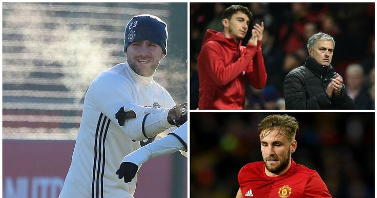 Luke Shaw has not played for Man Utd since November and was overlooked for the last three fixtures by Jose Mourinho.
