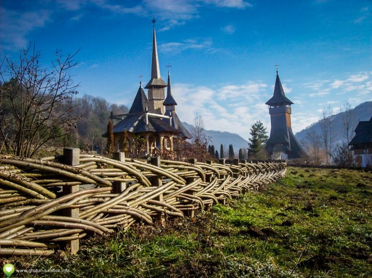 Mănăstirea Bârsana, #Maramures, #Romania