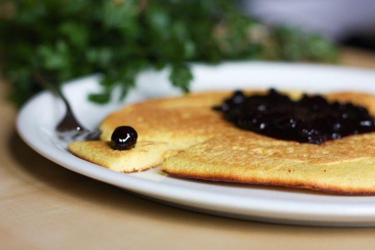 Przepis na bezglutenowy omlet z mąki kukurydzianej