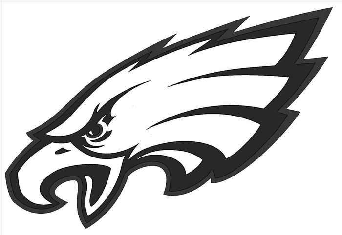 Nfl Philadelphia Eagles Coloring Page