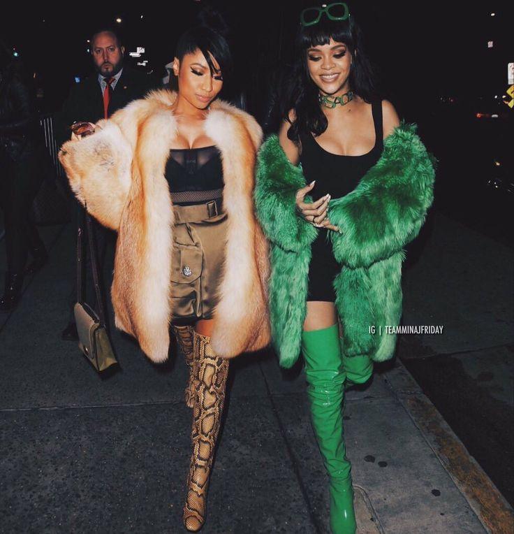 Nicki minaj and Rihanna Edit