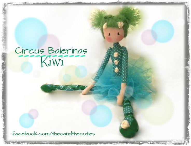 Theo and the Cuties - Circus Balerinas - Kiwi facebook.com/theoandthecuties
