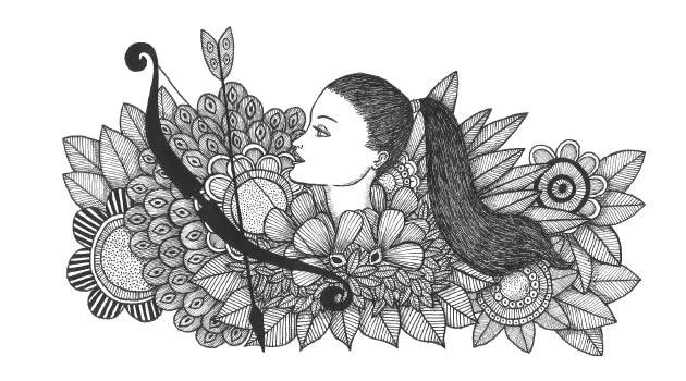 Sagitário sou eu | linda ilustração de Pedro Lucena